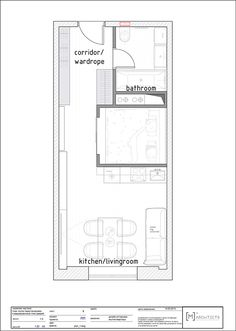Una villa da 39 m2 – A 39 sqm villa | vdrhomedesign