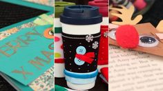 Holiday Gifts Your Kids Can Make - coffee cup cozies, bird seed ornaments, calendars from kids art work, monogrammed stationary, book mark Holidays With Kids, Happy Holidays, Holiday Gift Guide, Holiday Gifts, Monogram Stationary, Bird Seed Ornaments, Cup Cozies, Coffee Cup Cozy, Top Gifts