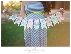 Baby Love banner by Let's Wear Dresses  Tamara + Eric :: Peoria, AZ (maternity) photographer » Elyse Renee Photography