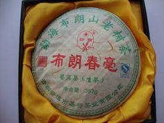 Пуэр чай, китайский чай, Сырье пуэр, Шен Pu'er, бесплатная доставка