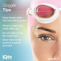 How to look after your goggles #Swimming (but please, I actually never do that , lol sorry)