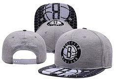 NBA Brooklyn Nets Clean Up Grey Hats -- More info could be found at the image url.