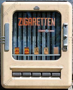 Zigarettenautomat LUMET / DDR 1957