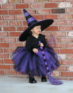 Black and Purple WITCH Tutu