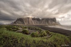 Im Wolkenland Vesturhorn, Iceland Photo by Anne Berger