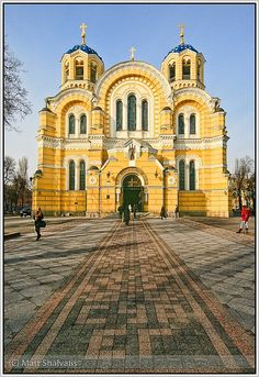 St. Volodymyr Church, Kiev, Ukraine, Matt Shalvatis