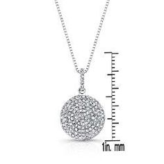 Shop for Auriya White Gold TDW Diamond Circle Necklace. Get free delivery On EVERYTHING* Overstock - Your Online Jewelry Destination! Circle Necklace, Circle Design, Box Chain, Jewelry Watches, White Gold, Diamond, Pendant, Silver, Money