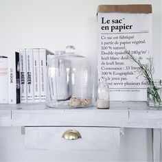 Content filed under the home category. The Paper Bag, Paper Bags, Minimal Decor, Shades Of White, Beautiful Interiors, Interiores Design, Interior Design Living Room, Vignettes, Interior And Exterior
