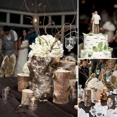 Enchanted Garden Wedding Centerpiece Idea