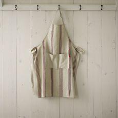Cotton Apron - Bistro Stripe