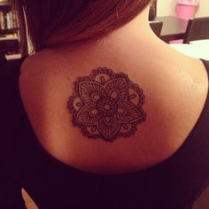 My #mandala #tattoo Melissa Britten