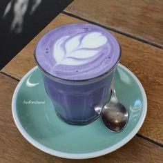 Purple Latter Art. ❤☕