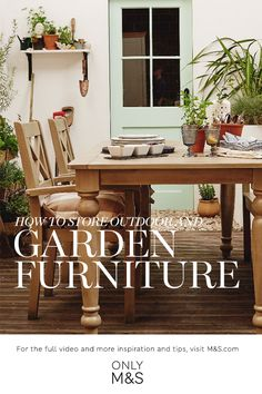 Home Inspiration Buying Guides Quick Garden, Better Weather, Al Fresco Dining, Garden Furniture, Dining Table, Spirit, Advice, Peace, Store