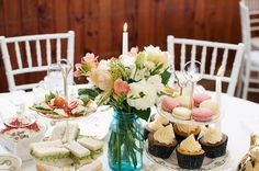 A vintage afternoon trap arty reception with the most gorgeous teacups and sweet treats // Jel Photography Alternative wedding photographers Auckland