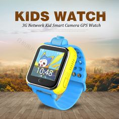 42.28$  Buy now - http://ali3cx.worldwells.pw/go.php?t=32708696323 - 720P Remote Camera GPS LBS WIFI Location 1.54 Touch Screen Kid Child 3G Android Smart Wristwatch SOS Monitor Tracker Alarm Watch