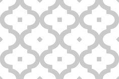 Arabesque Grey Wall & Floor Tile 20x20cm