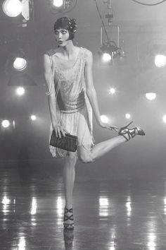 Karlie Kloss as a flapper