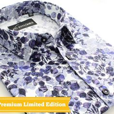 This limited edition Giza Colton printed shirt is prefect for any occasion! Price - Rs Call 91 9820417772 to place your order. Casual Shirts For Men, Men Casual, Custom Shirts, Men's Shirts, Style Fashion, Mens Fashion, Flower Shirt, Classy Men, Dapper Men