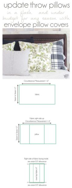 DIY Throw Pillow, DI