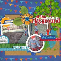 Layout using {At The Playground} Digital Scrapbook Kit by Clever Monkey Graphics available at OScraps and Gingerscraps http://www.oscraps.com/shop/product.php?productid=10013681&cat=697&page=1 http://store.gingerscraps.net/at-the-playground-by-Clever-Monkey-Graphics.html #clevermonkeygraphics