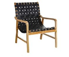 Leder-Sessel Simone | Westwing Scatter Cushions, Toss Pillows, Outdoor Chairs, Outdoor Furniture, Outdoor Decor, Chair Bed, Cushion Filling, Indoor Air Quality, Teak Wood