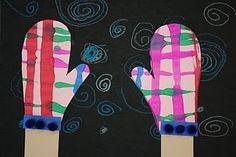 1st grade art lesson on lines