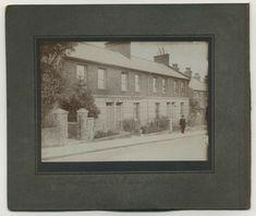 #Basingstoke #photographs c#1890 #Eastrop #Terrace / #Corn #Merchant #Hampshire #vintage #image #victorian Antique Photos, Vintage Photographs, Church Interior, Hampshire, Terrace, Cottage, Victorian, Exterior, Antiques