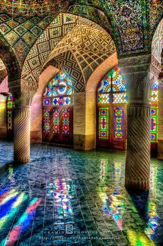 """The use of Stained glass is common in the interior design of Iranian architecture and also in Churches and Synagogues. But it may seem amazing to you to see it in Mosques. Nasir-ol-Molk Mosque is one of the few mosques in the world whose impressive interior design with """"stained glass"""" has turned it into an admirable artwork. What made me prepare this collection was my enthusiasm to explore the world through the lens of my camera. From the first days after having bought my first Camera. I…"""