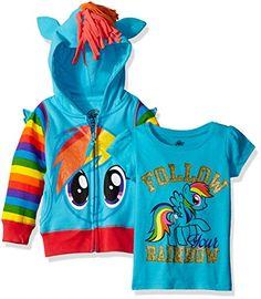 My Little Pony Toddler Girls' Rainbow Dash Hoodie & T-Shi... https://www.amazon.com/dp/B01F1OIW4U/ref=cm_sw_r_pi_dp_x_bxdzybKHP8AJX