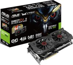 Asus Rolls Out Overclocked and Custom Cooled Strix GTX 980 and GTX 970 Cards - Both of these Maxwell-powered parts sport factory overclocks and custom cooling solutions that are supposedly 30 percent quieter than Nvidia's reference cooler. | Maximum PC