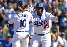 Los Angeles Dodgers clinch National League West = The Los Angeles Dodgers clinched the National League West Division Championship on Sunday with their 4-3 win over the Colorado Rockies on Charlie Culberson's walk-off home run. Despite having set a record for.....