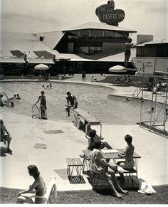 Desert Inn Pool, 1950s