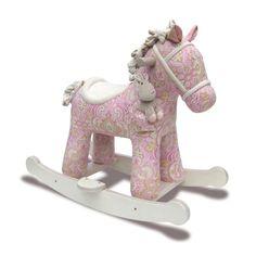 Beschreibung  Fakten    Hier zeigen wir Ihnen ein ganz bezauberndes Spielzeug. Das Schaukelpferd von Little Bird ist nicht nur ein ganz wundervolles Pferd zum...