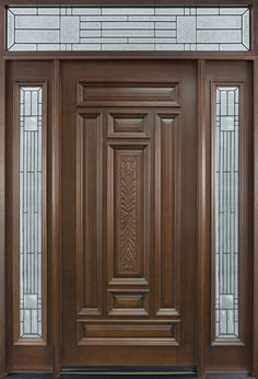 Main Door Designs Important Thing For You In Chocolate Colors on Home Decor 28 Top Collection Main Door Design Photos Front Door Design Wood, Double Door Design, Wooden Door Design, Custom Interior Doors, Door Design Interior, Wood Entry Doors, The Doors, Wooden Doors, Door Entryway