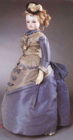808 best Huret,Barrois,French Fashion dolls images on . Victorian Dolls, Antique Dolls, Vintage Dolls, French Fashion, Vintage Fashion, Doll Dress Patterns, Clothing Patterns, Dress Paterns, Indian Dolls