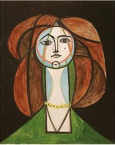 Françoise Gilot by Picasso