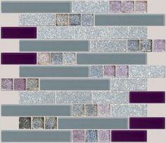 purple back-splash for kitchen :) | dream home :) | pinterest