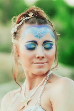 Mermaid make-up by ~Shion-CheshireCat on deviantART
