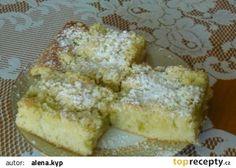 Hrnkový koláč s rebarborou recept - TopRecepty.cz