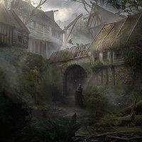 Deadlands by Marco Gorlei on ArtStation.