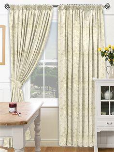 Melbury Buttermilk Curtains from Curtains 2go