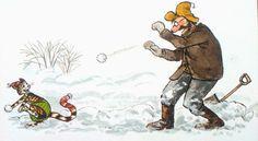 Pettersson und Findus Morgen Findus, wird's was geben 1995 Cartoon Art, Cute Cartoon, Illustrator, Trolls, Nordic Art, Candy Art, Happy Pictures, Here Kitty Kitty, Scandinavian Christmas