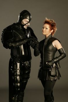 OK, maybe not to adore. But enjoy, certainly. Scorpius and Sikozu from Farscape.