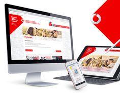 Vodafone Store - POP materials on Behance Online Portfolio, Portfolio Website, Graphic Design Print, My Works, New Work, Behance, Pop, Adobe, Display