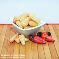 Pinhão na AirFryer   Fritadeira sem Óleo - AirFryer Multi Cooker Recipes, Slow Cooker Recipes, Air Fry Recipes, Multicooker, Kefir, Carne, Fries, Good Food, Food And Drink