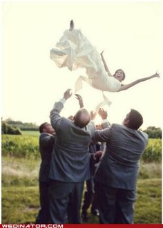 fun groomsmen picture!