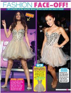 Selena Gomez in Tiger Beat Magazine