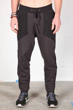 Fabric Combo Sweatpant - Robert Geller