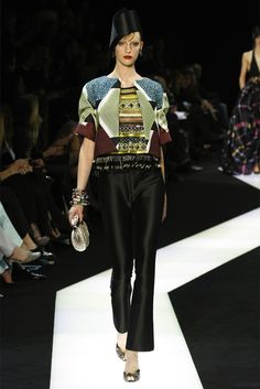 "INSPIRED BY AFRICA // ARMANI PRIVE PRESENTS ""ETHNIC ECHOES"" FOR SPRING /SUMMER 2013 COLLECTIONS"