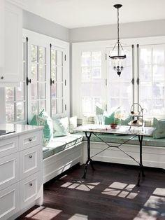 Window seats for sunroom
